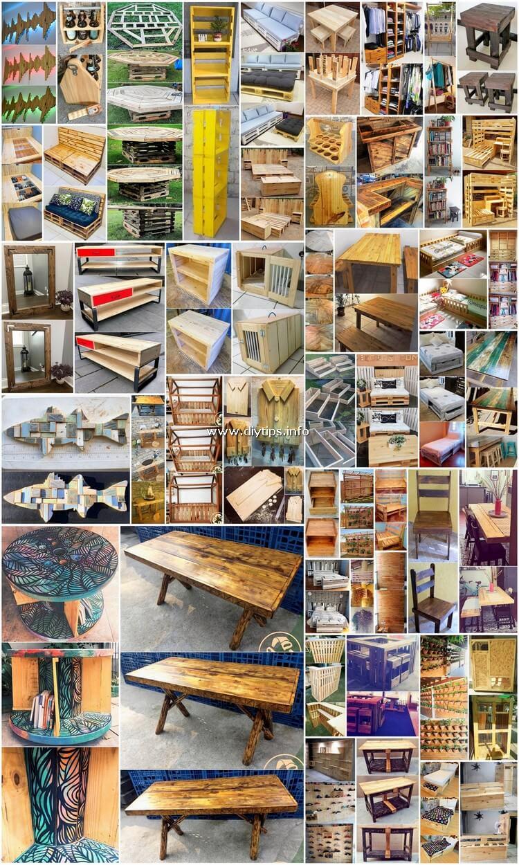 50 Easiest DIY Ways to Reuse Wood Pallets