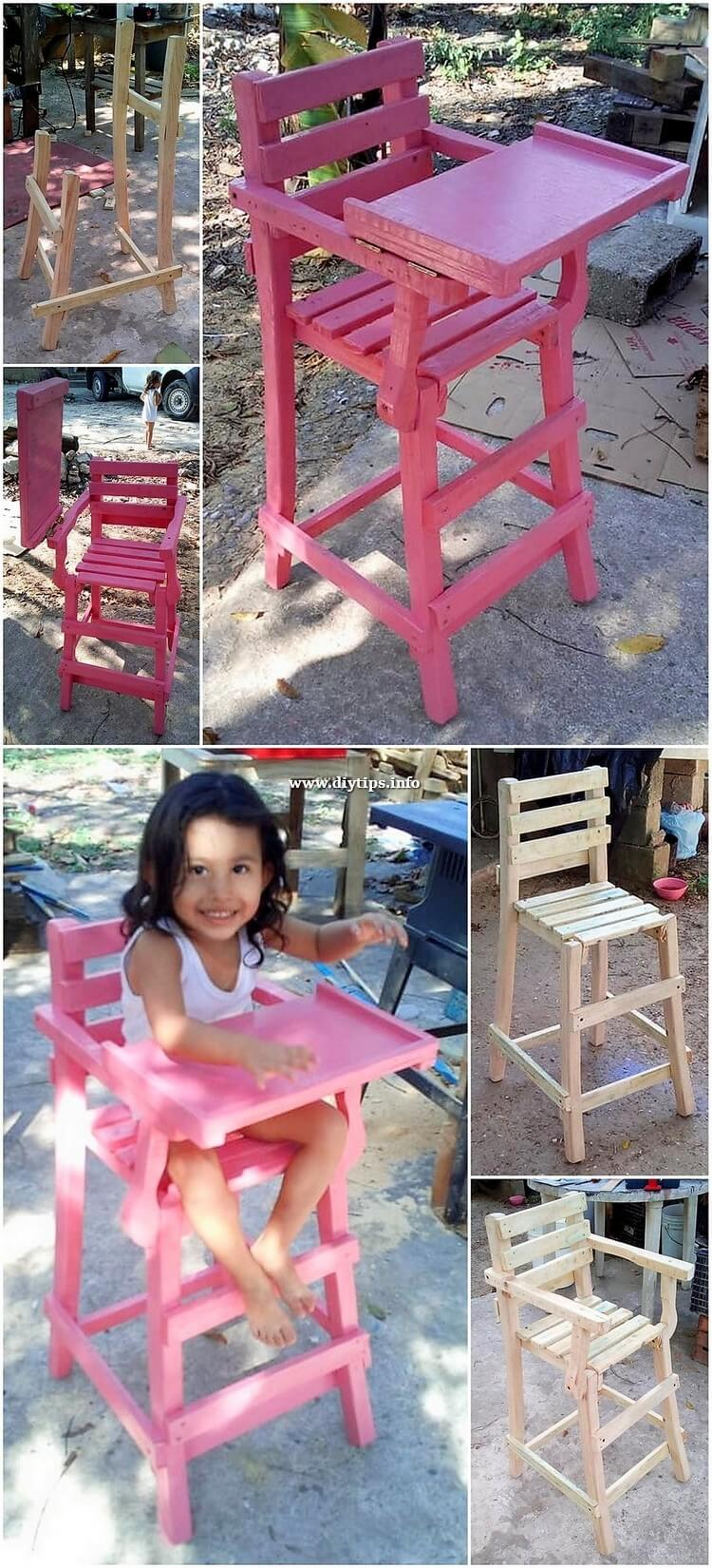 DIY Pallet Chair for Kids