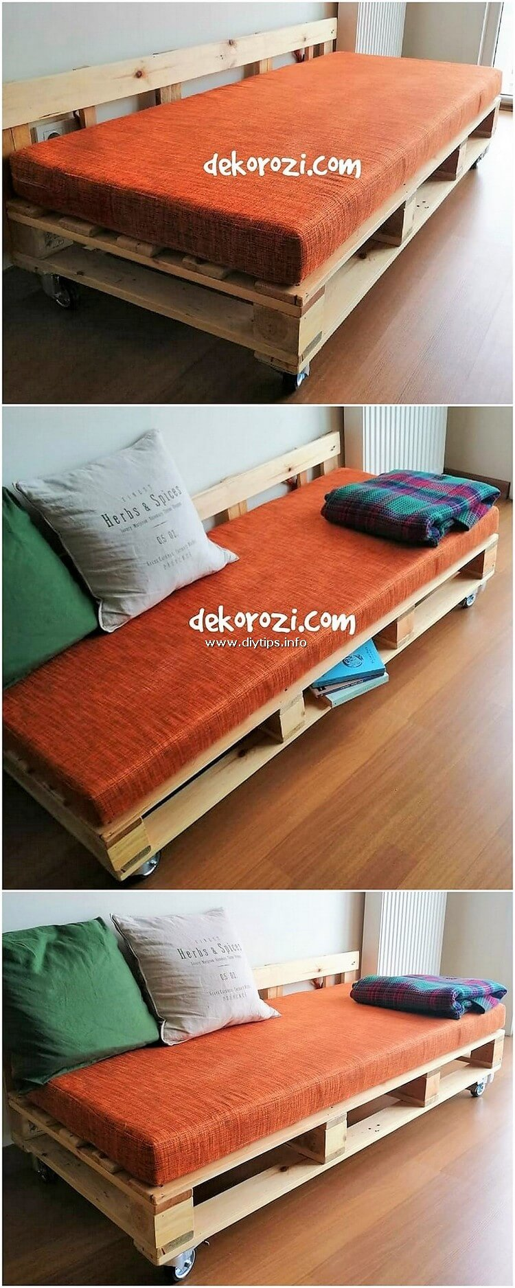 Pallet Daybed