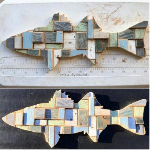 Pallet Fish Wall Art