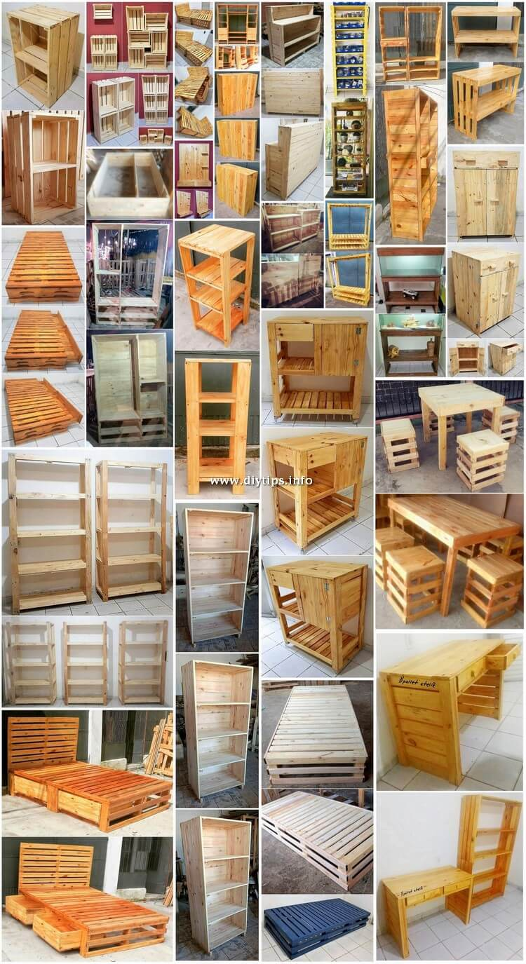 Wonderful Wood Pallet DIY Projects