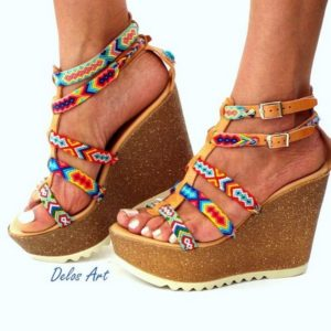 bohemian shoes and heel (9)