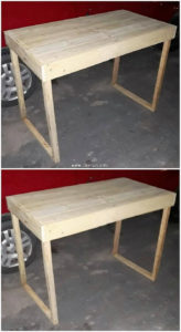Shipping Pallet Table