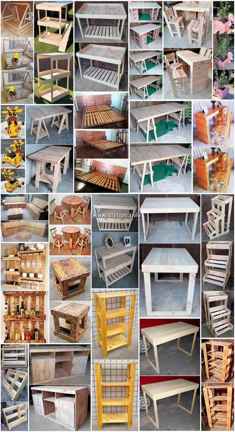 Wondrous DIY Ideas for Reusing Pallet Wood