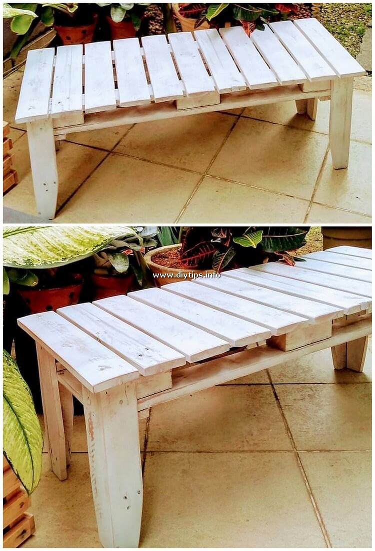 Old Pallet Table