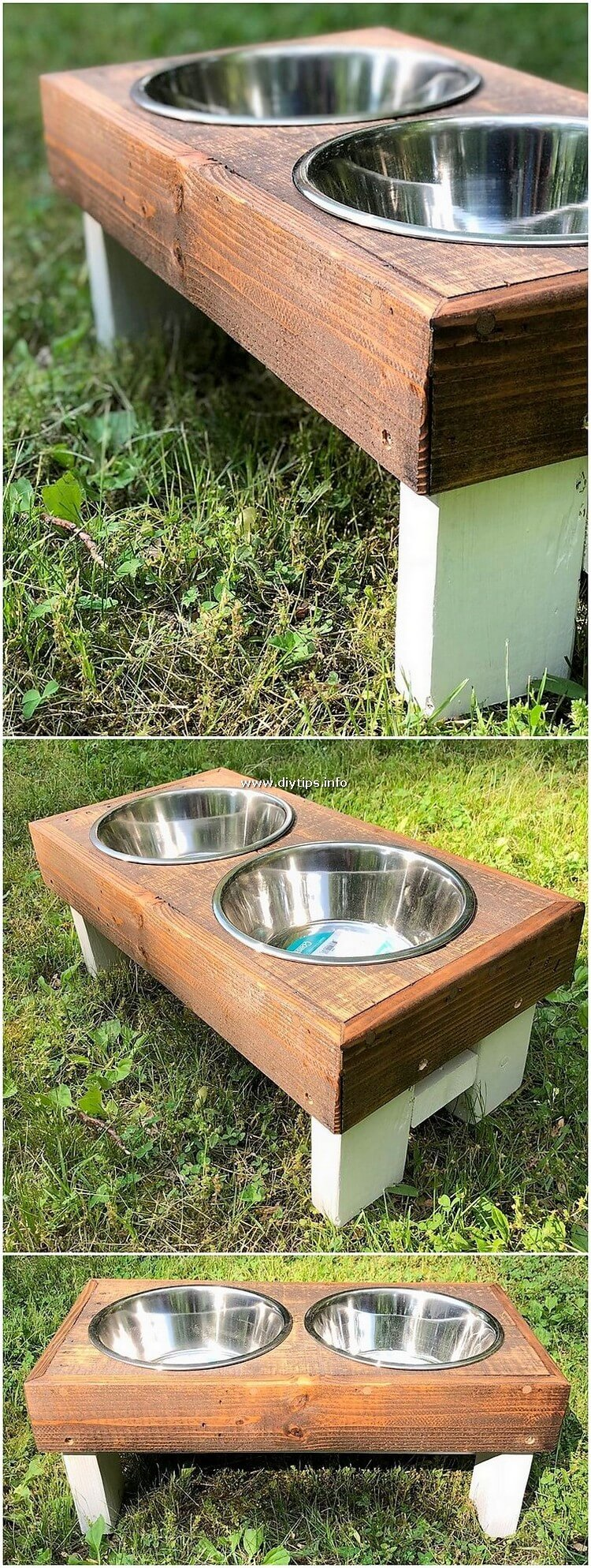 Pallet Pet Food Feeder