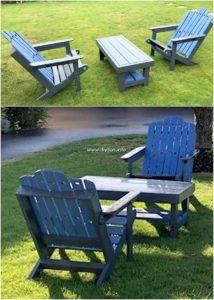 Pallet Wood Garden Furniture