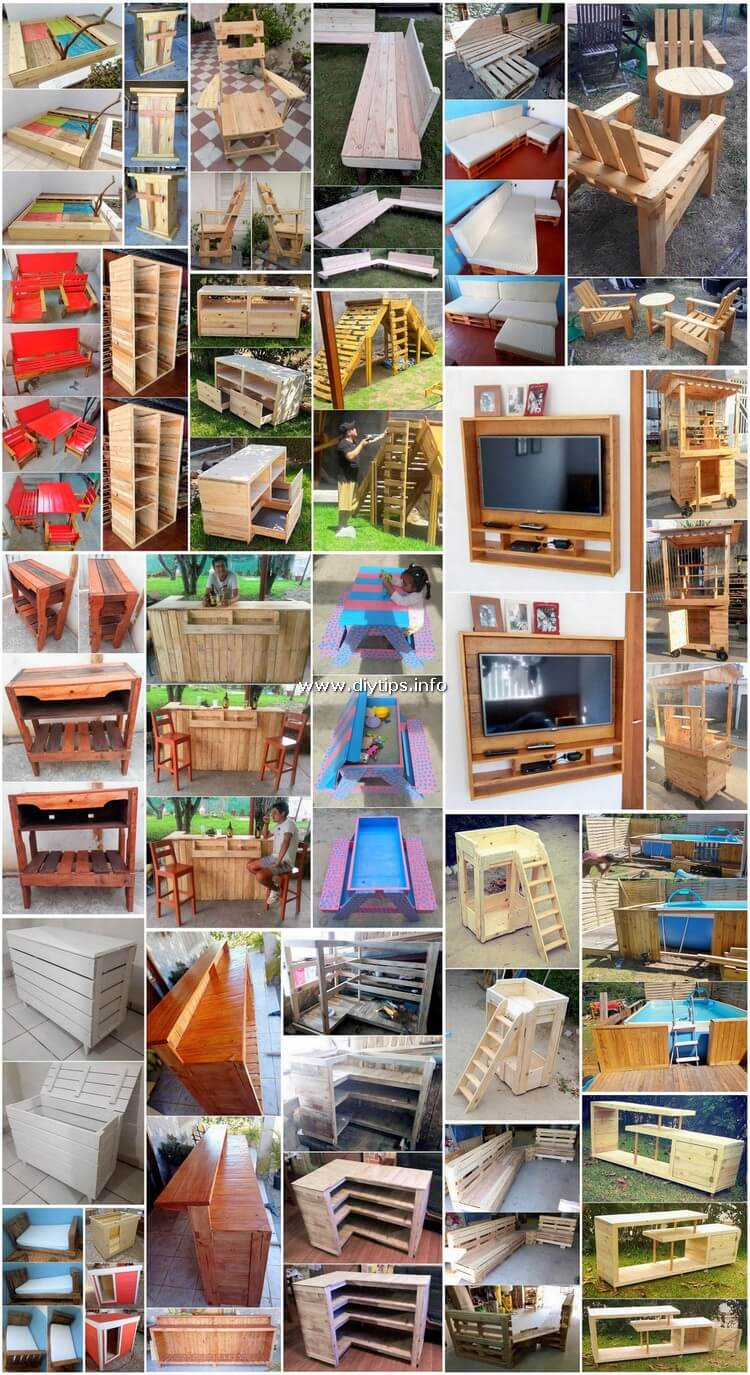 Classic Ideas Made Out of Shipping Pallets