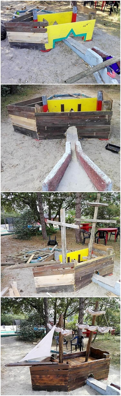 Pallet Boat