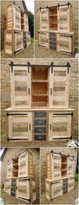 Pallet Cabinet or Wardrobe