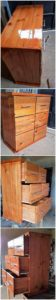Pallet Chest of Drawerse