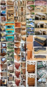 Smart DIY Ideas Made with Old Shipping Pallets
