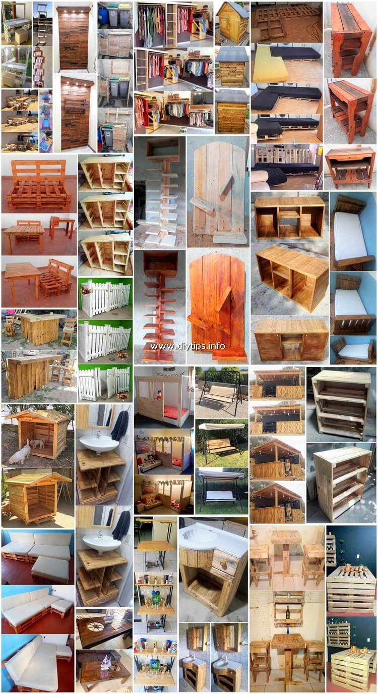 Superb and Cheap Shipping Pallet Recycling Projects