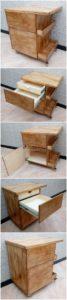 Wooden Pallet Cabinet