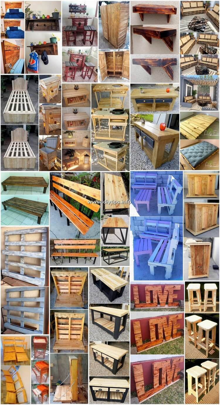 Awe Inspiring DIY Projects with Shipping Pallets