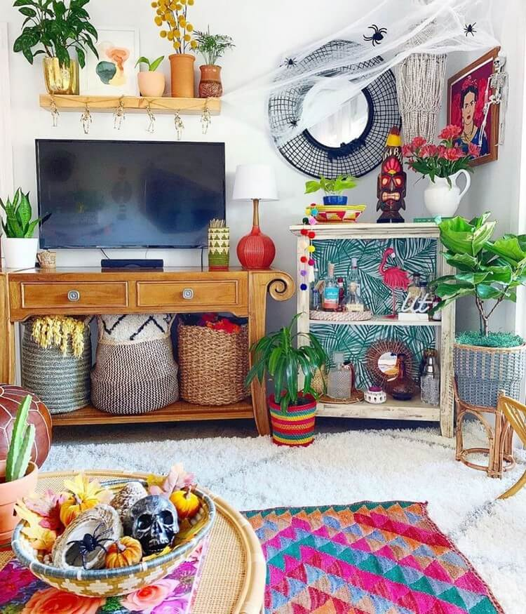 Bohemian Home Interior Design (12)