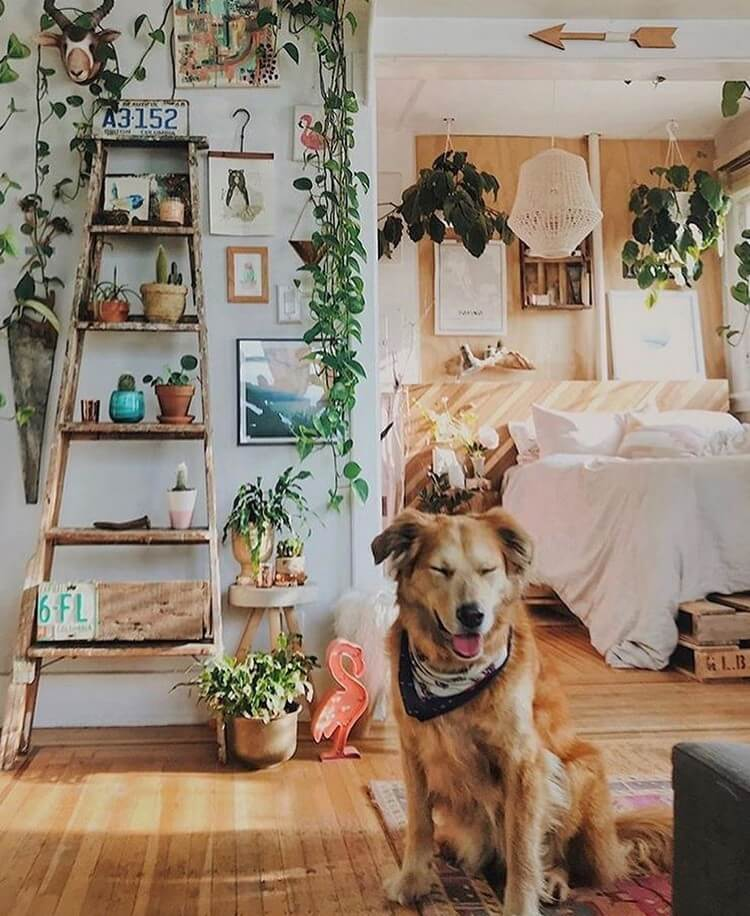 Bohemian Home Interior Design (14)
