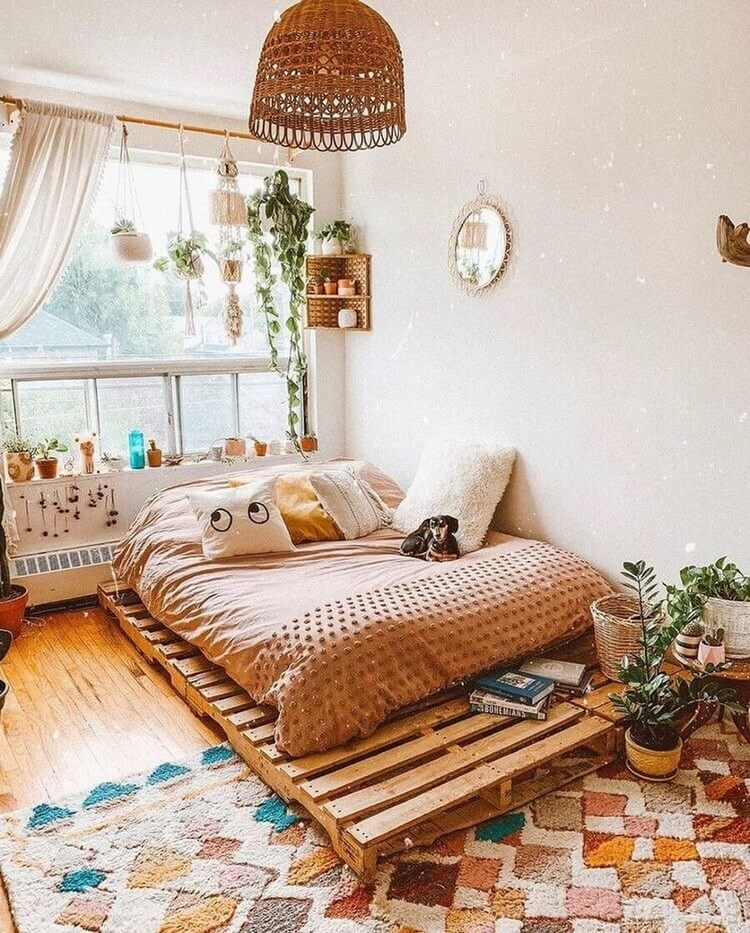 Bohemian Home Interior Design (17)