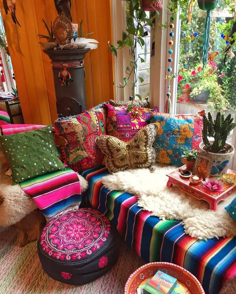 Bohemian Home Interior Design (2)