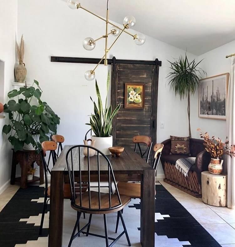 Bohemian Home Interior Design (21)