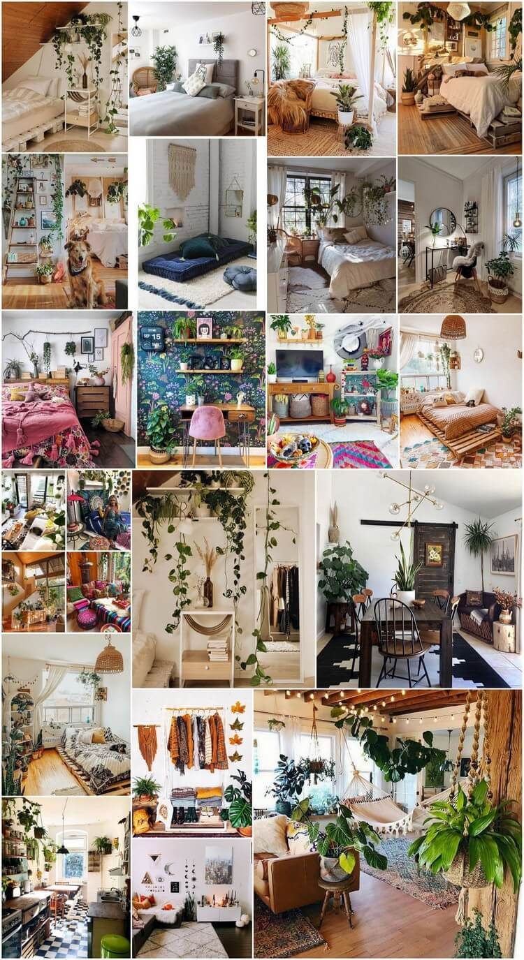 Charming Bohemian Home Interior Design Ideas