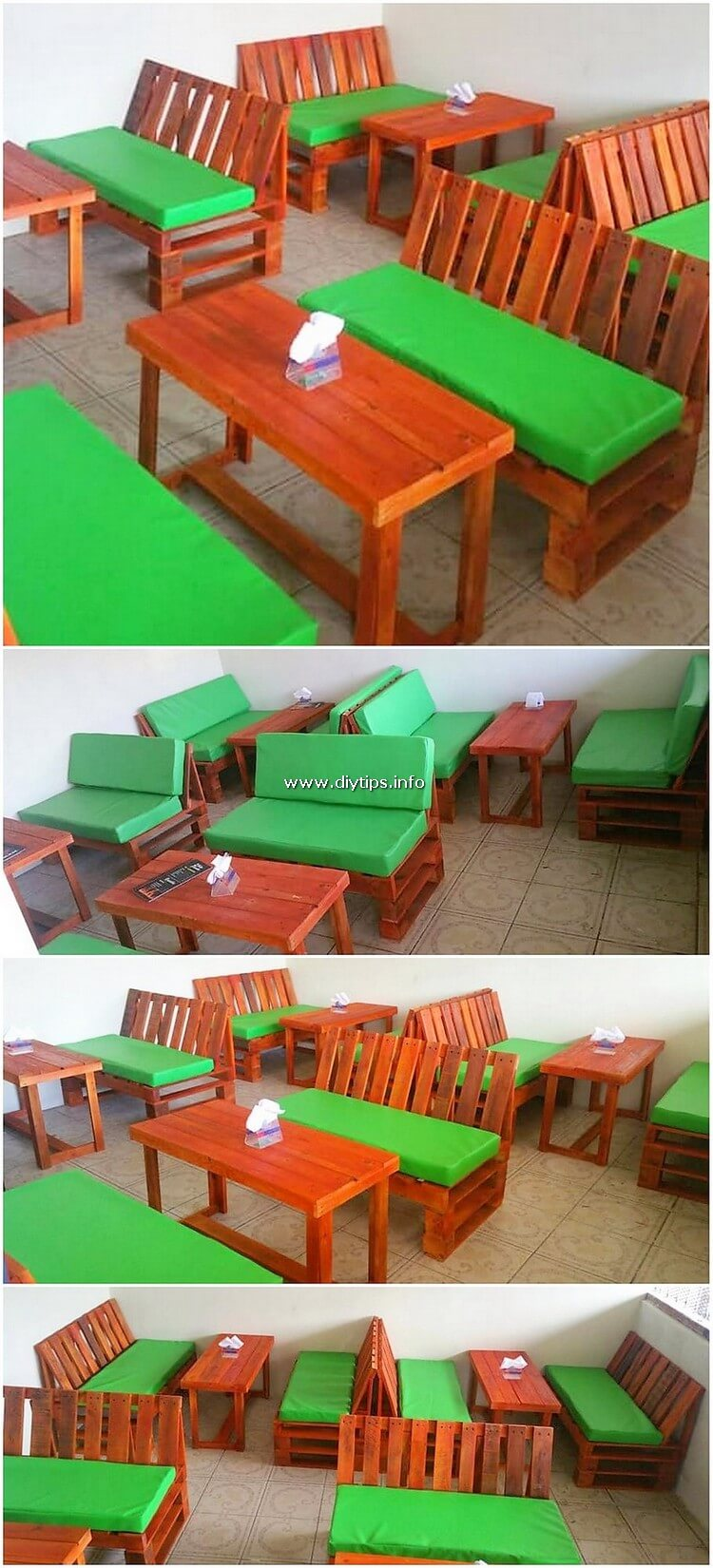 Pallet Restaurant Furniture