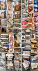 30 Creative Ideas for Old Shipping Pallets Reusing