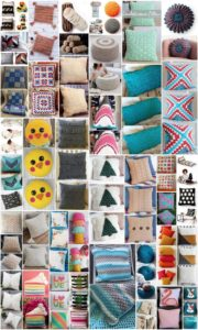 50 Easy to Make Free Crochet Pillow Patterns
