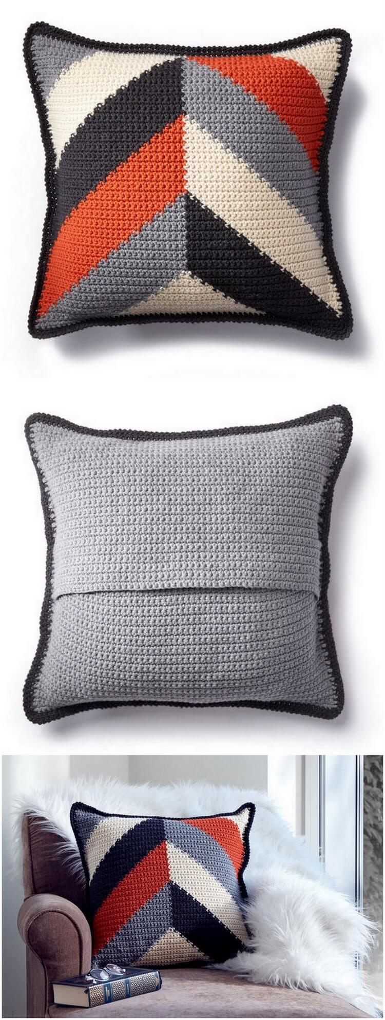 Crochet Pillow Pattern (20)
