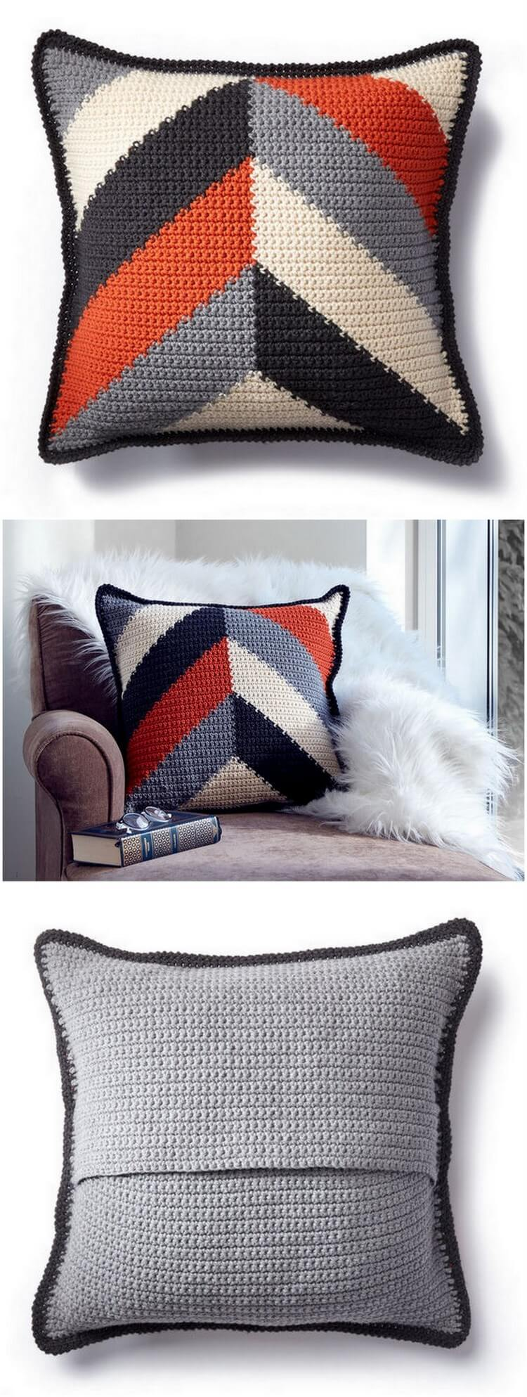 Crochet Pillow Pattern (21)