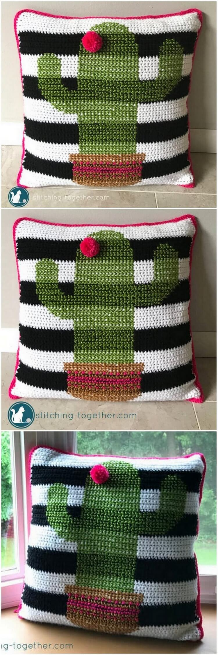 Crochet Pillow Pattern (31)