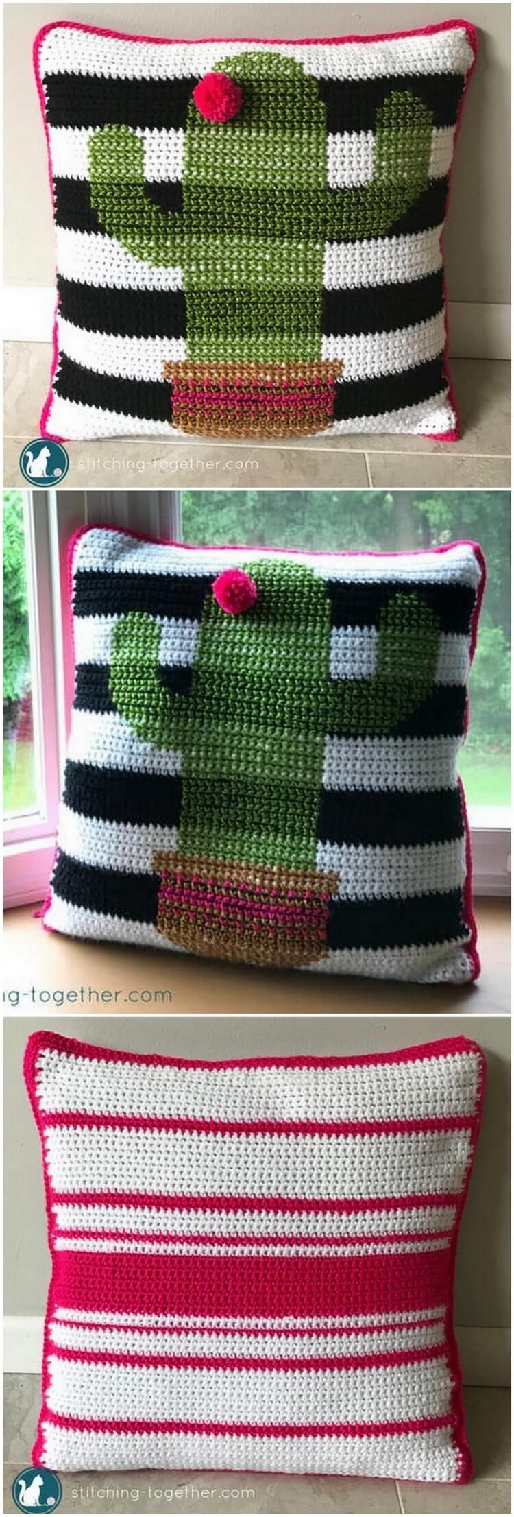 Crochet Pillow Pattern (32)