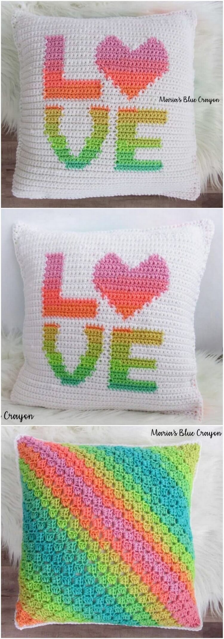 Crochet Pillow Pattern (33)