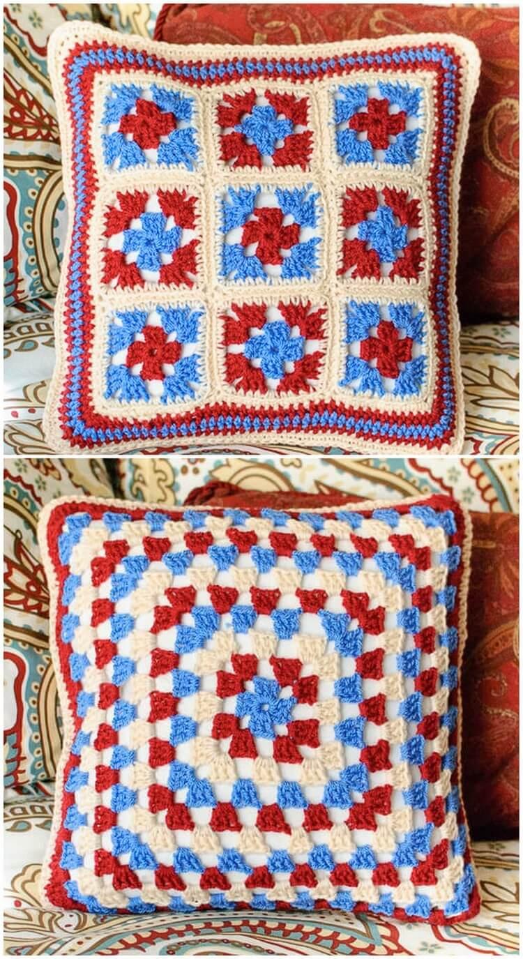 Crochet Pillow Pattern (43)