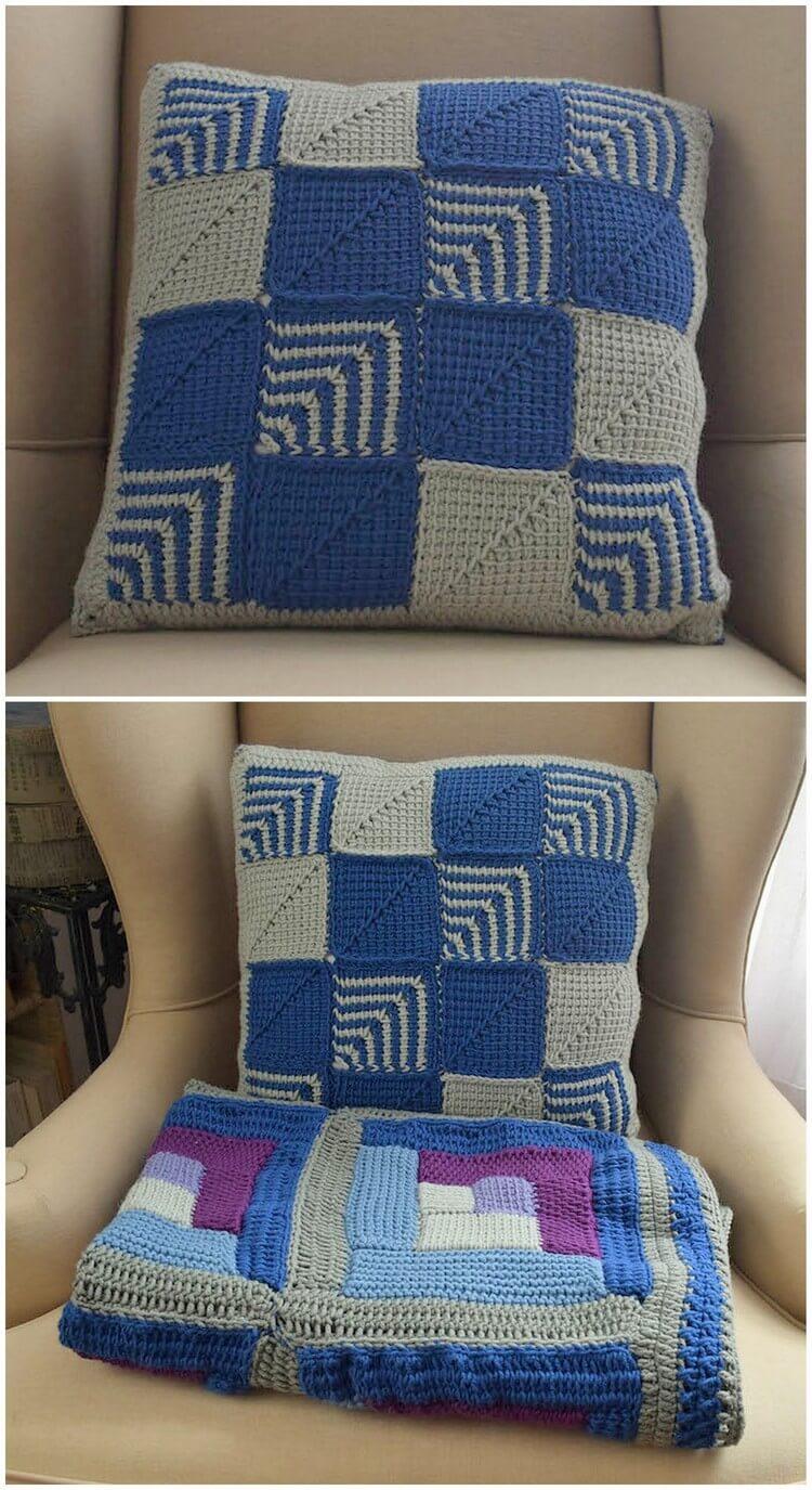 Crochet Pillow Pattern (50)