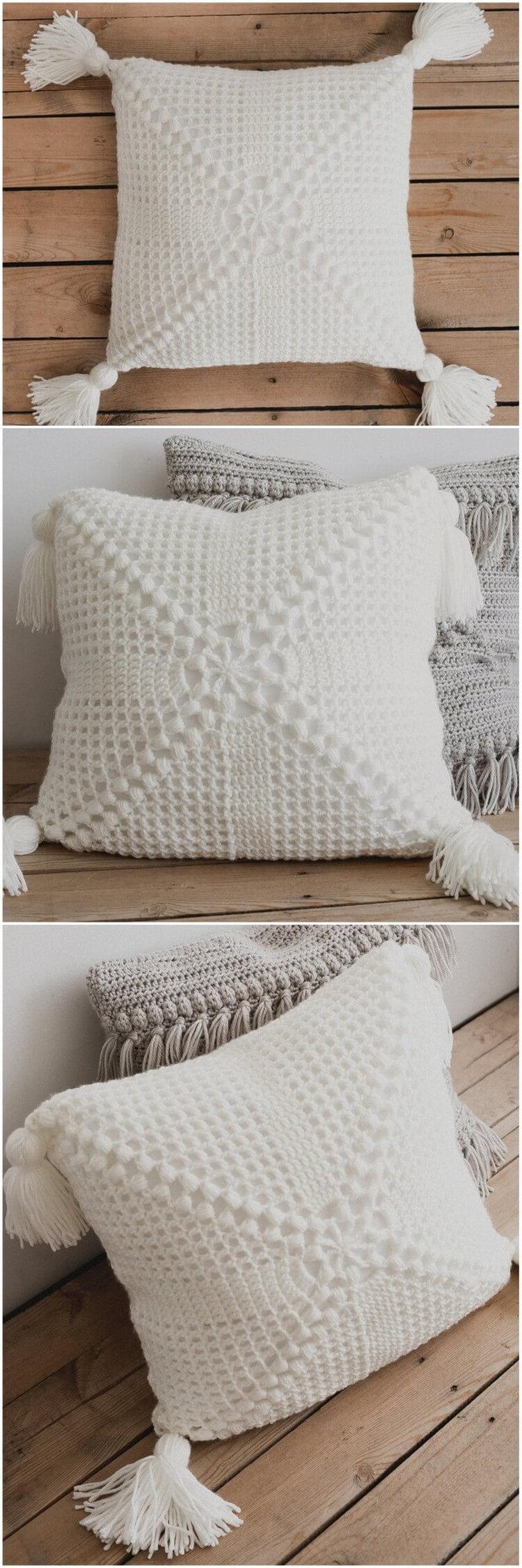 Crochet Pillow Pattern (9)