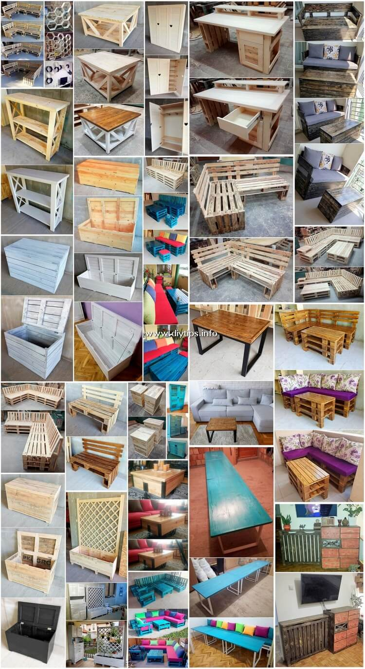 Inexpensive Ideas for Shipping Pallet Recycling