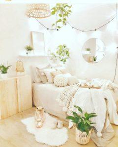 Modern Bohemian Bedroom (11)