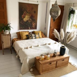 Modern Bohemian Bedroom (12)