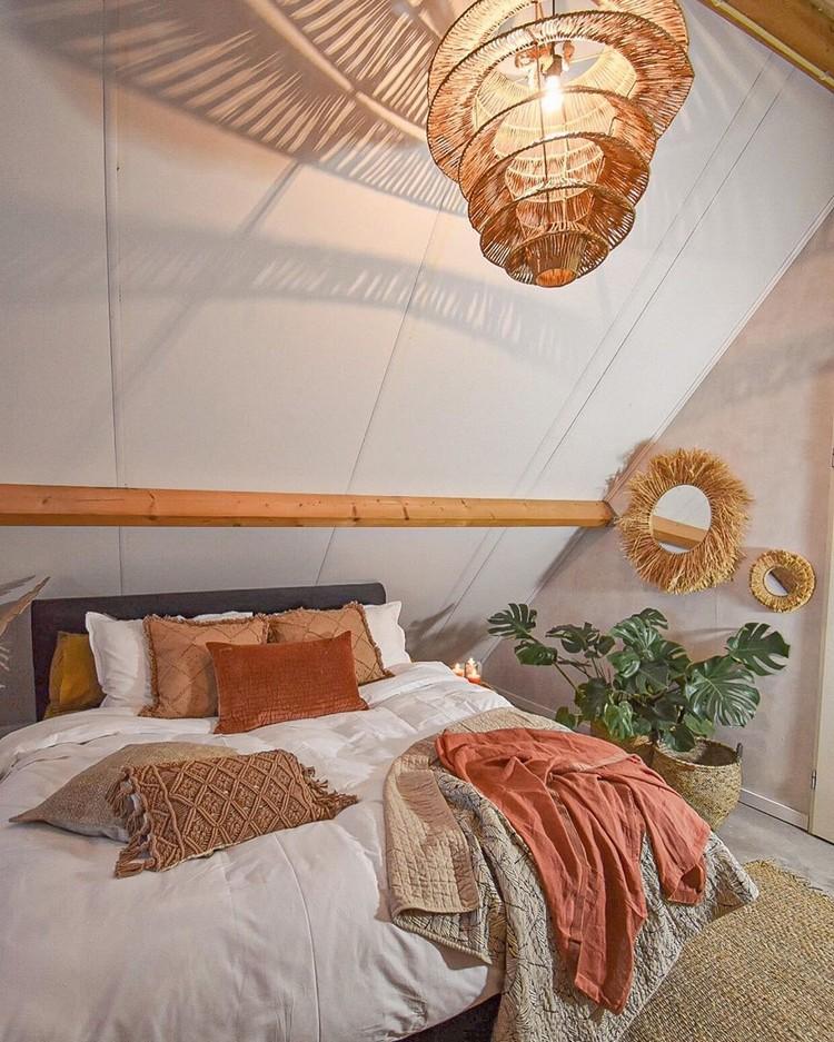 Modern Bohemian Bedroom (13)
