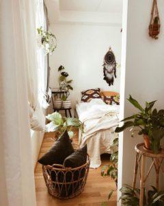 Modern Bohemian Bedroom (15)