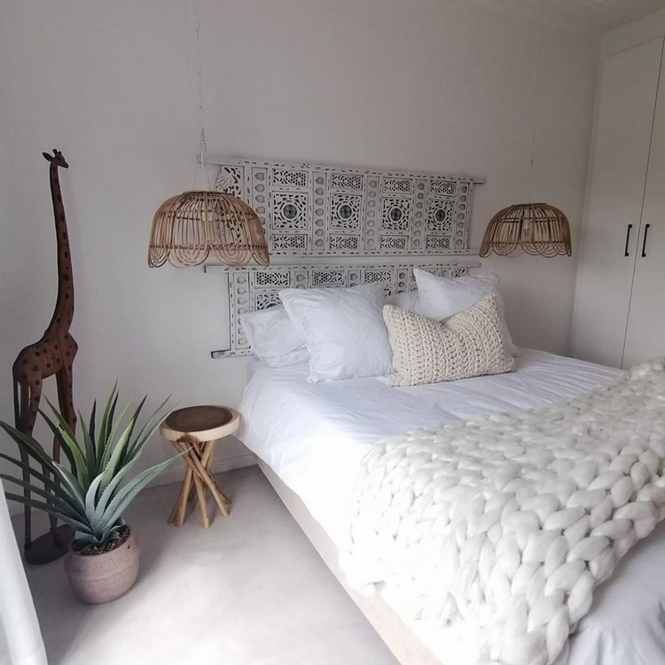 Modern Bohemian Bedroom (16)
