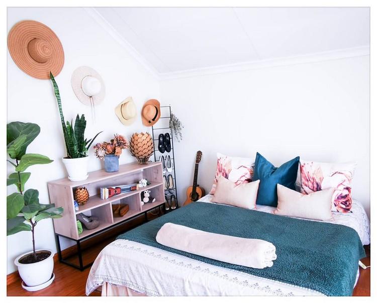 Modern Bohemian Bedroom (19)