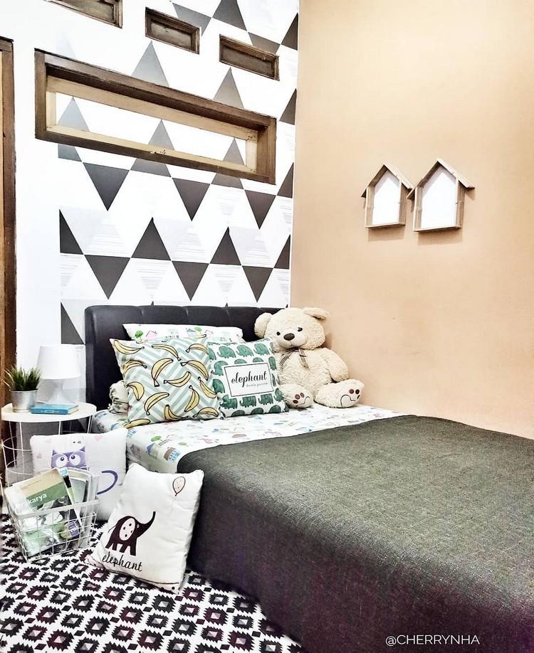 Modern Bohemian Bedroom (21)
