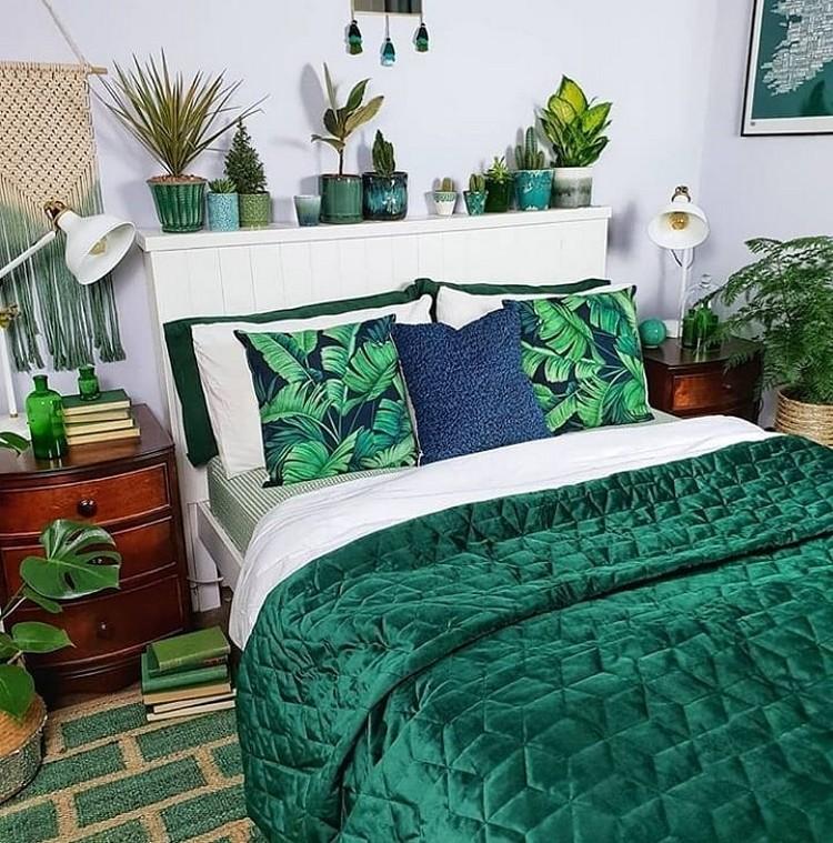 Modern Bohemian Bedroom (22)