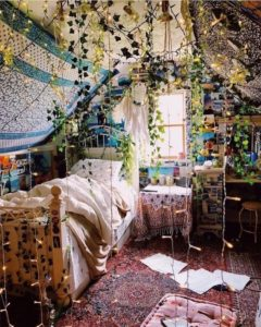 Modern Bohemian Bedroom (23)