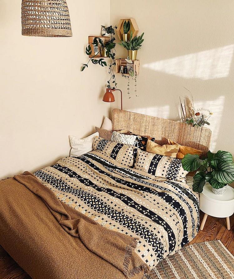 Modern Bohemian Bedroom (26)