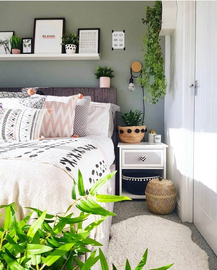 Modern Bohemian Bedroom (27)