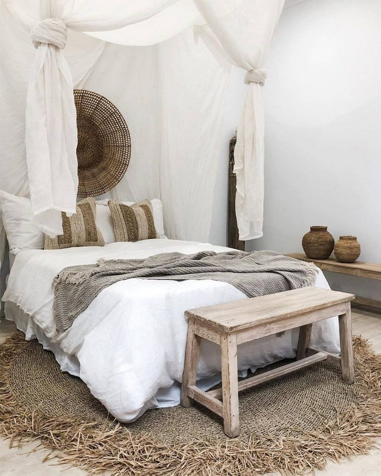 Modern Bohemian Bedroom (28)
