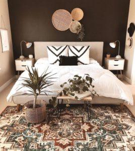 Modern Bohemian Bedroom (3)